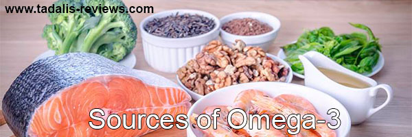 possible action of fatty Omega-3 acids on male potency